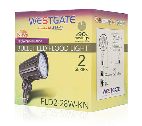 Westgate Lighting LED Outdoor  Spotlights - - 120-277V
