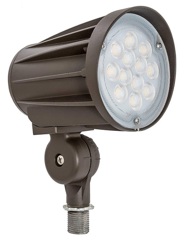Westgate Lighting LED Outdoor Landscape Garden Bullet Flood Lights - Path Walkway Lawn Spotlights - Knuckle Mount - IP65 Waterproof - High Lumen - UL/DLC Listed - 120-277V (28W, 3000K Knuckle)