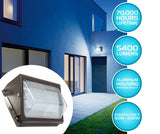 Westgate LED Wall Pack Fixture - Outdoor Security Wall Light for Area, Yard, Parking - Commercial Grade Industrial Quality HPS/HID Replacement - IP65 Waterproof UL Listed(50 Watt, 4000K Neutral White)