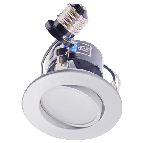 "LED Recessed Retrofit 3"" Kit Gimbal 3000K (Dimmable) AH LIGHTING"