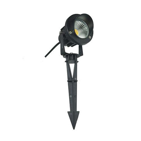 LED Garden Spot Light - 7W - Bronze & Black-CD75  warm white  ABBA LIGHTING