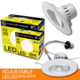 "6"" LED Adjustable Downlight 16w"