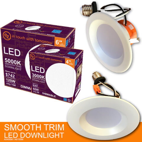 LED Smooth Trim Down light ELECTRIC ZONE