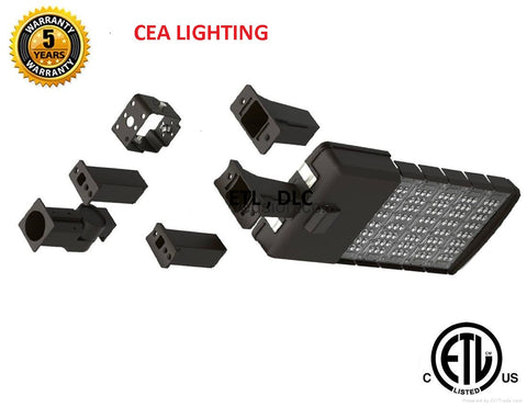 150 Watt LED Parking Lot Lights -19,000 Lumen -130 Lumen per Watt-5000K Bright White