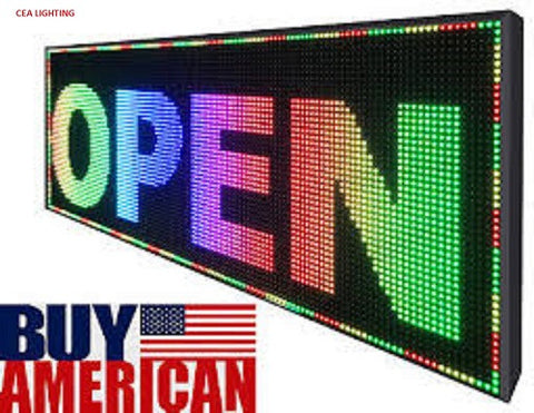 full color LED sign p5 scrolling text LED advertising screen / programmable image video  LED display