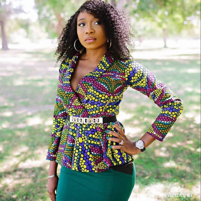 "West Africa's Identity-Ankara ""Dutch"" Wax Print"