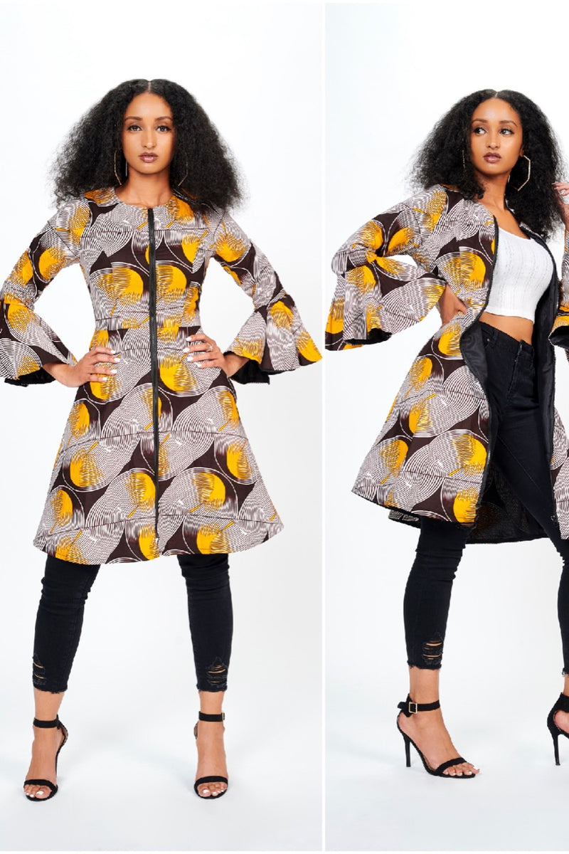 African Print Jacket or Dress or Both?