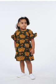 Joba African Print Dress - Kids