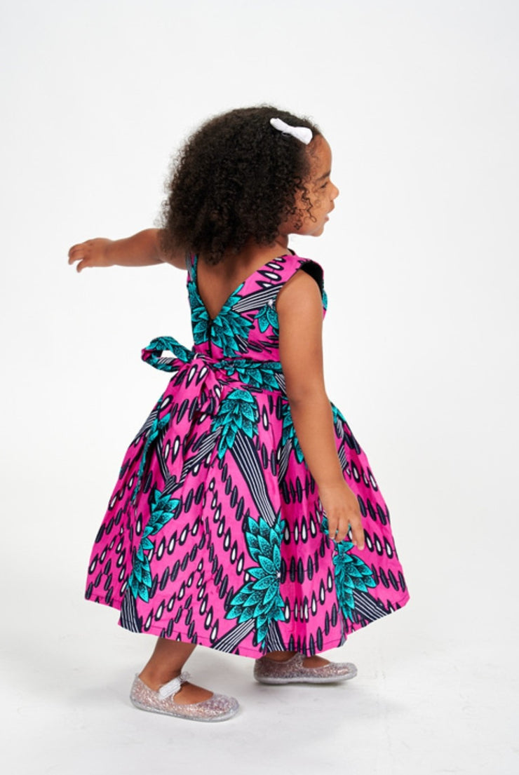 Temilola African Print Kids Dress