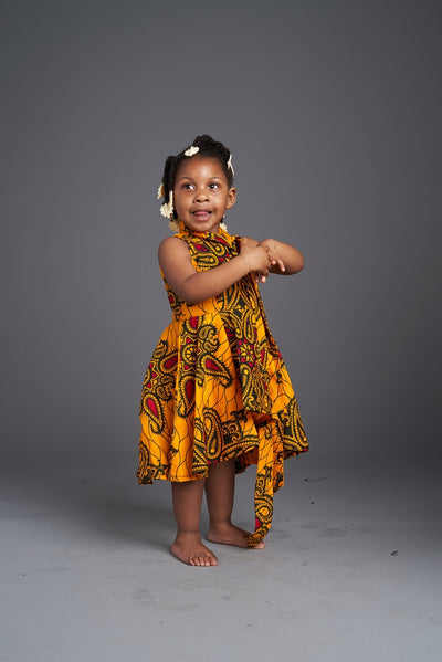 Bunmi African Print Dress - Kids