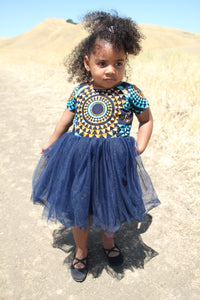 Ajasa African Print Baby Dress