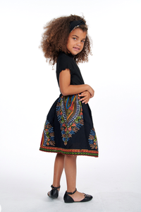 Olori African Print Skirts For Kids