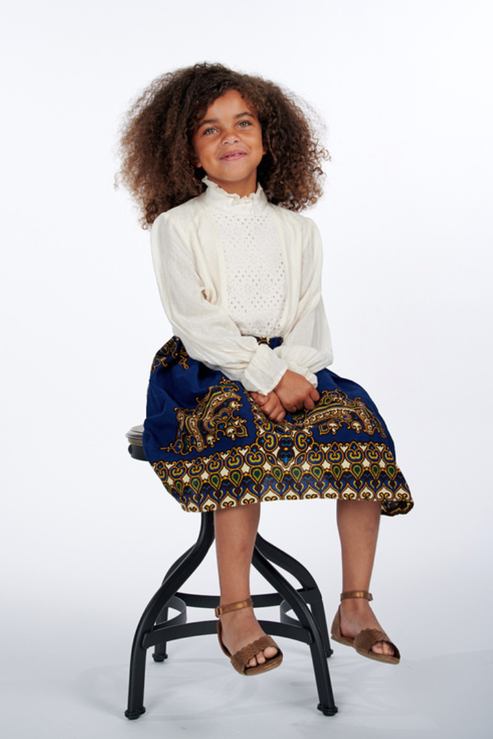 Lami African Print Skirts For Kids