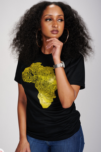 Africa T-Shirt (Yellow)
