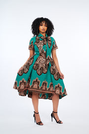 Yetunde African Print Dress