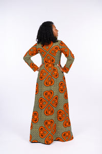 Fadekemi African Print Jacket Dress