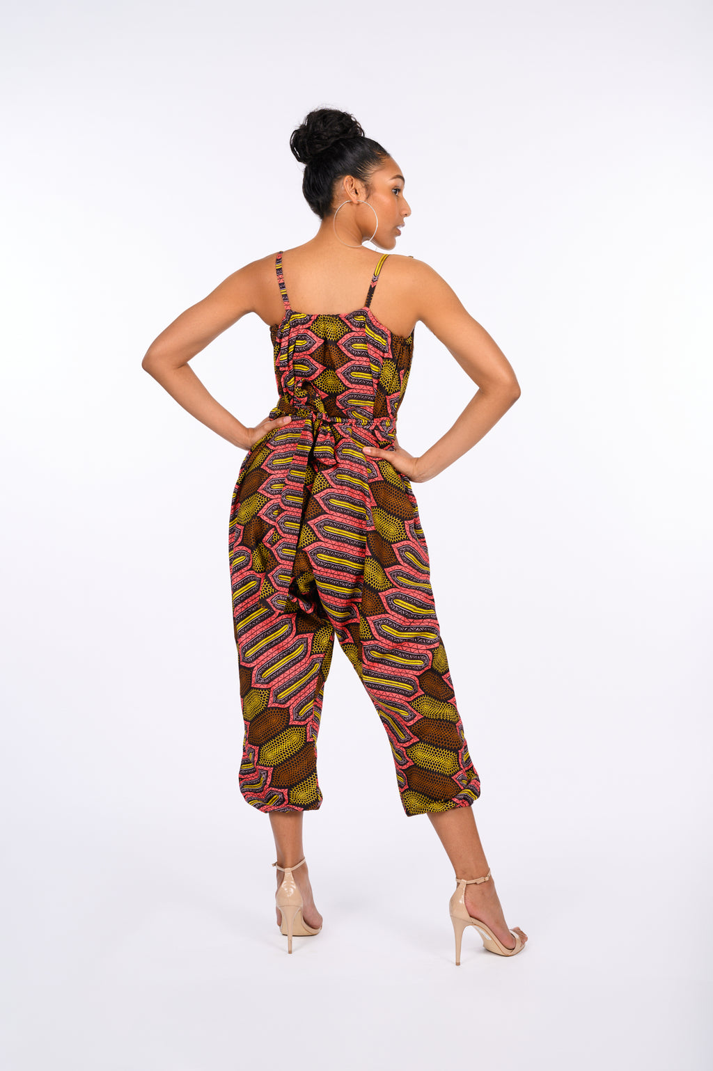 Eyitayo African Print Jumpsuit