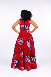 Wuraola African Print Dress