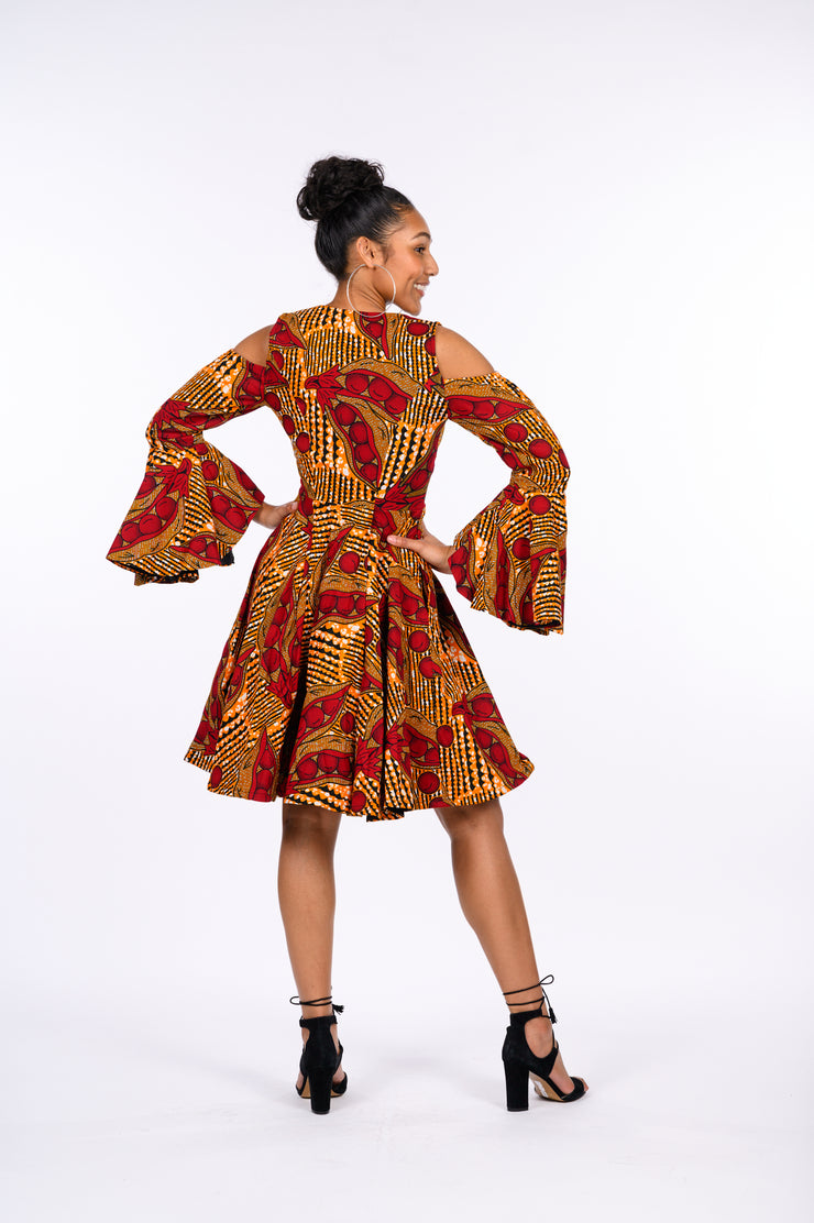 Ayoola African Print Jacket Dress