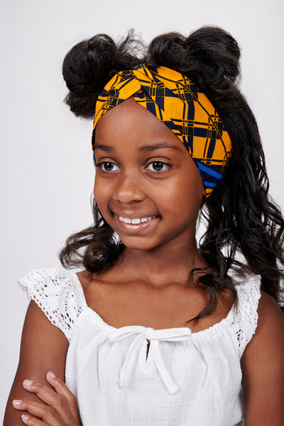 Ogo African Print Kids Head Wrap