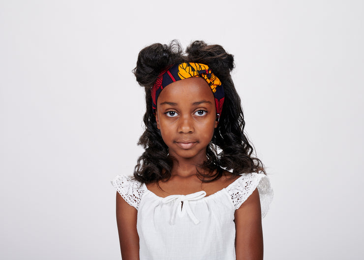 Oye African Print Kids Head Wrap