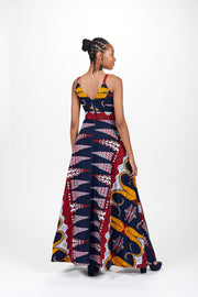 Thabisa African Print Dress