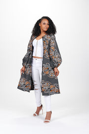 Jabulani African Print Jacket Dress