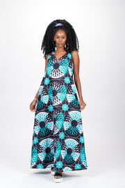 Ketso African Print Dress