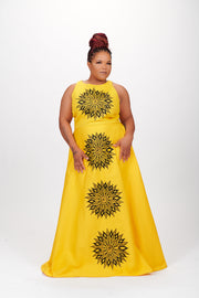 Pipe Dress (Yellow)