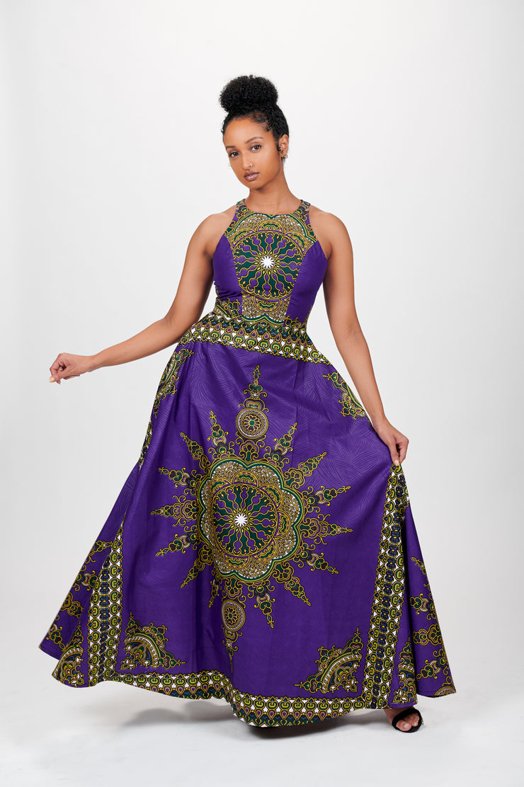 Ramla African Print Dress