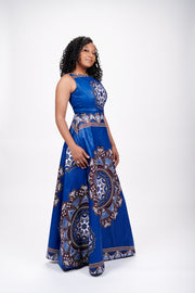 Serwaa African Print Dress