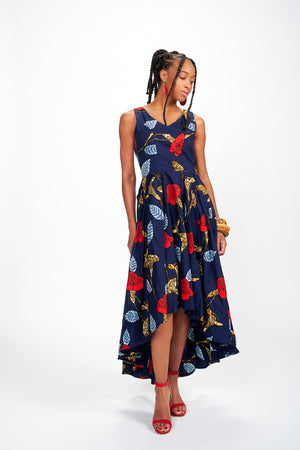 Durotimi African Print Dress