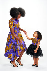 Omore African Print Dress