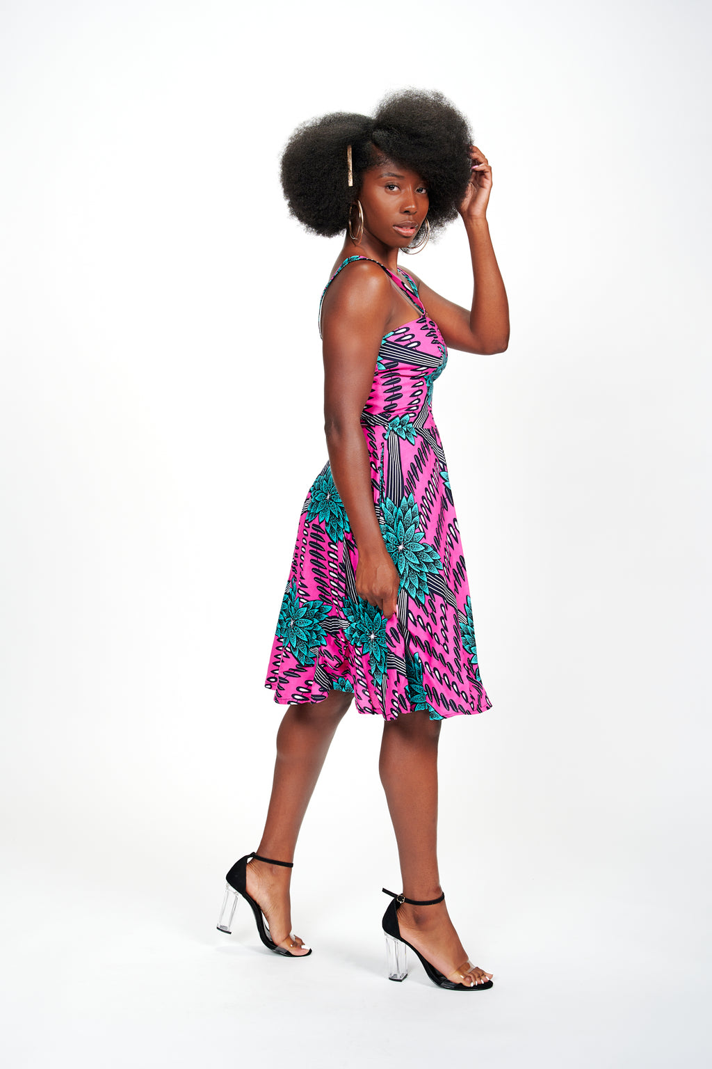 Temilola African Print Dress