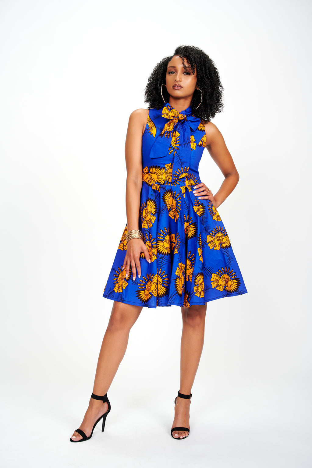 Yinka African Print Dress