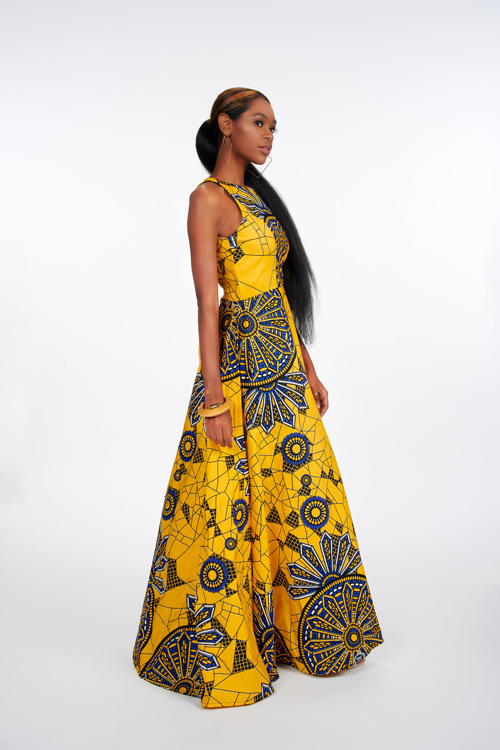 Durojaye African Print Dress