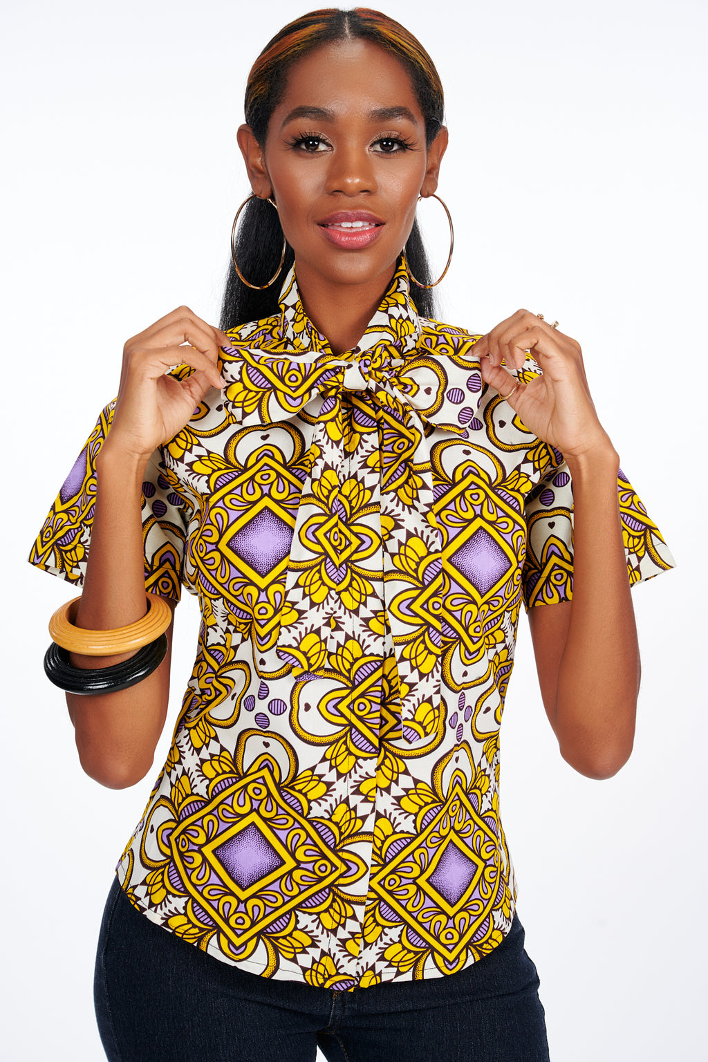 Eyitope African Print Shirt