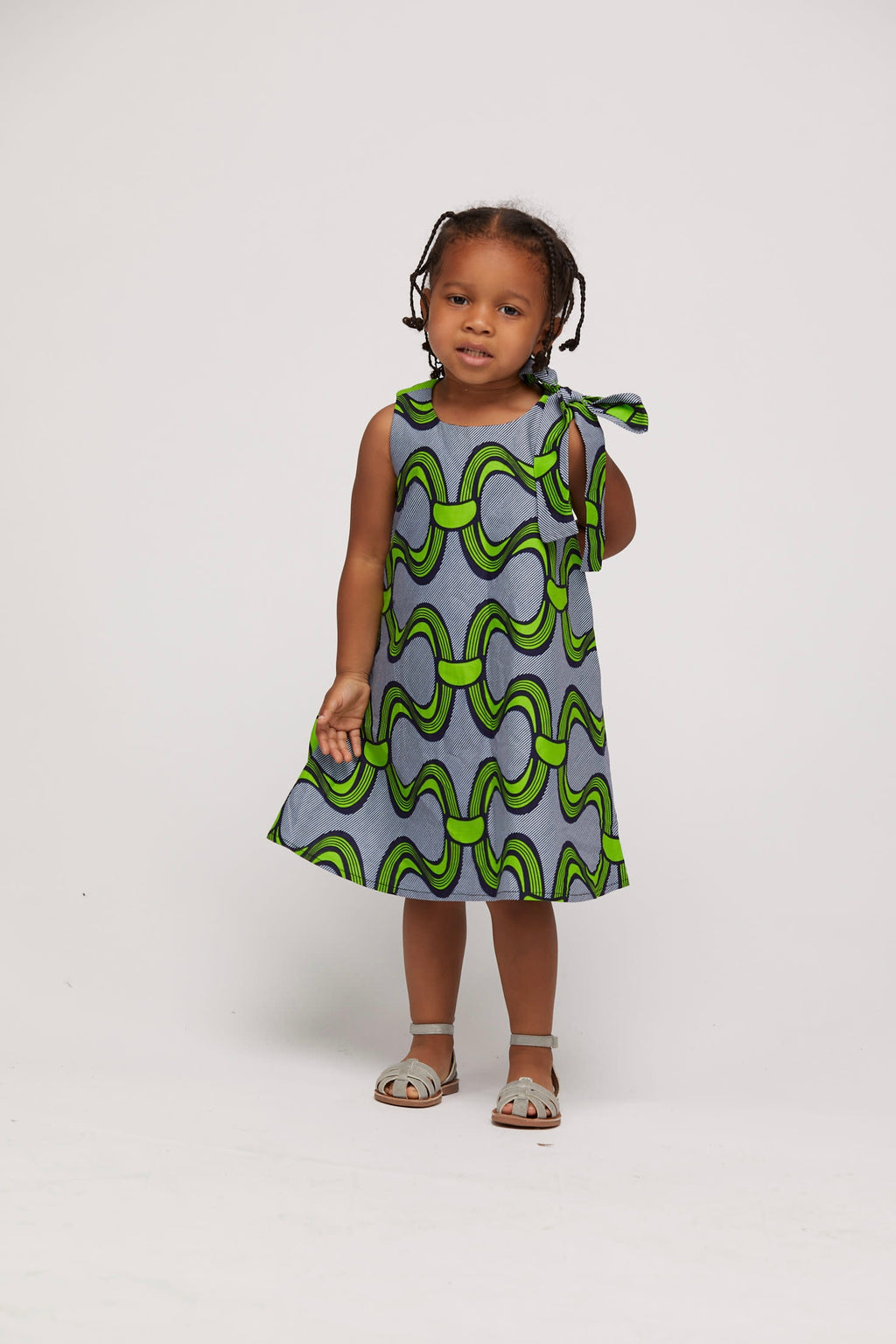 Oniru African Print Dress Kids