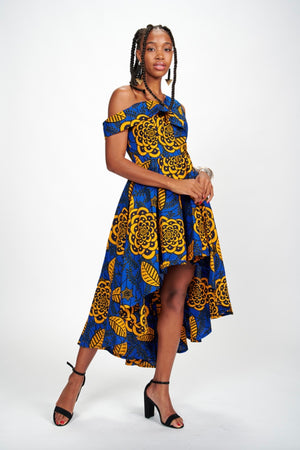 Dupe African Print Dress