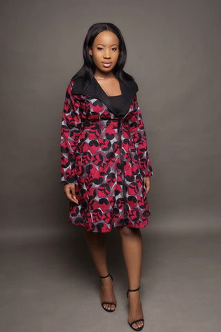 Ife Jacket dress