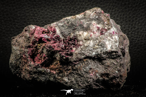 07636 -  Nice Pink Erythrite Crystals with Quartz - Bou Azzer Mine (South Morocco)