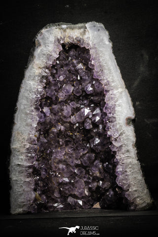 22088 - Beautiful Purple Natural Amethyst Geode Minas Gerais District - Brazil