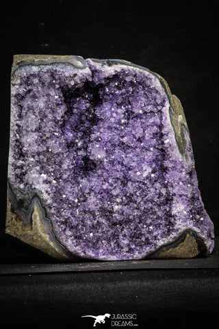 22213 - Beautiful Purple Natural Amethyst Geode Minas Gerais District - Brazil