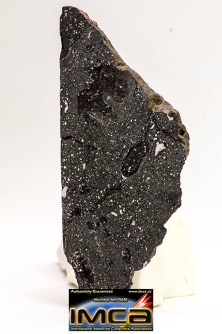 08928 -Top Rare NWA IMB Impact Melt Breccia Chondrite Meteorite Polished Section 45.2 g