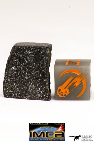 08947 - Top Rare NWA Polished Section of Enstatite Chondrite EL6 5.2 g