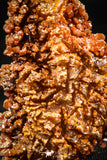 06263 -  Beautiful Red Vanadinite Crystals Cluster from Mibladen Mining District, Midelt Province, Morocco