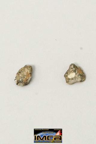 "22245 - Collection of Lunar Meteorites Paired with ""NWA 11273"" 0.10 g (Feldspathic Regolith Breccia)"