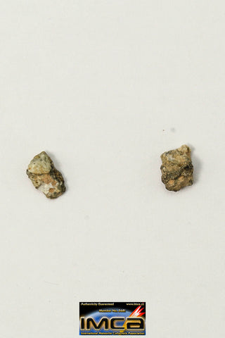 "22246 - Collection of Lunar Meteorites Paired with ""NWA 11273"" 0.12 g (Feldspathic Regolith Breccia)"
