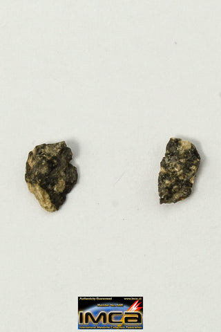 "22248 - Collection of Lunar Meteorites Paired with ""NWA 11273"" 0.114 g (Feldspathic Regolith Breccia)"