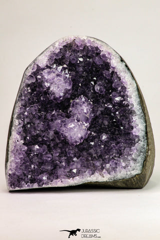 09104 - Beautiful Purple Natural Amethyst Geode Minas Gerais District - Brazil